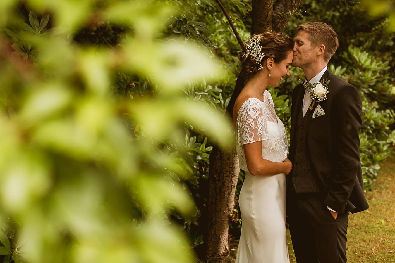 Garden Wedding Photography