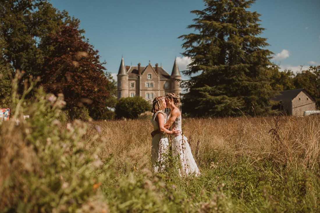 Escape to the Chateau wedding